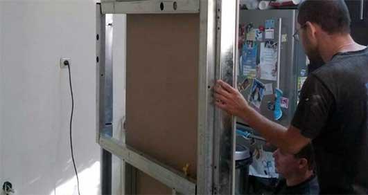 עבודות שיפוצים בחיפה -בנית קיר גבס
